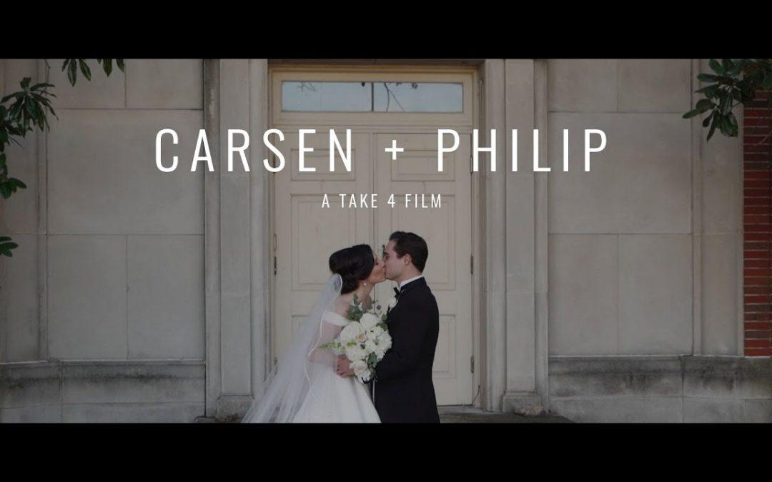 Carsen + Philip's Park Cities Baptist Church Wedding
